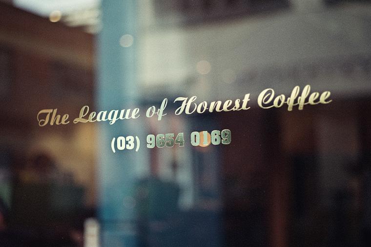 Melbourne photographer - The League of Honest Coffee