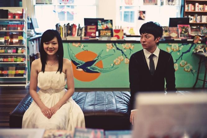 Bookshop Melbourne engagement