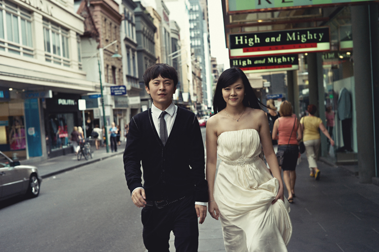 CBD Melbourne wedding photographs
