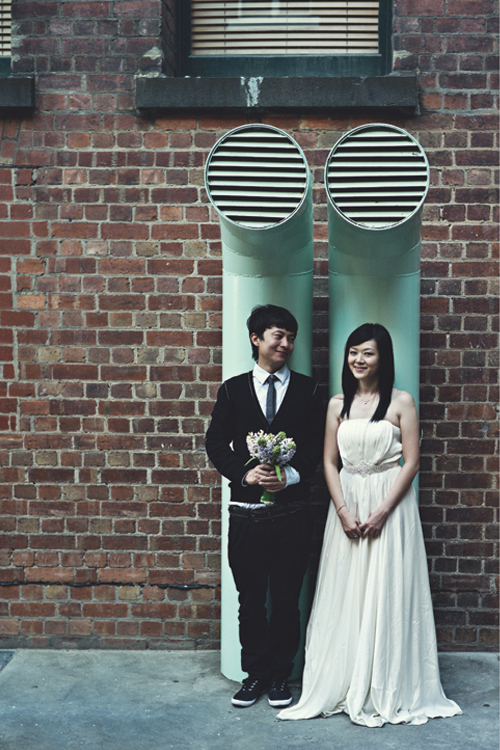 Quirky Melbourne engagement
