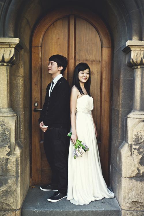 Melbourne RMIT wedding photographer