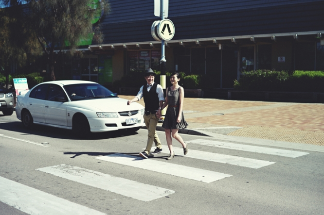 Melbourne mornington engagement photography