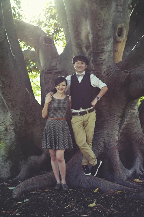 Melbourne engaged couple photography