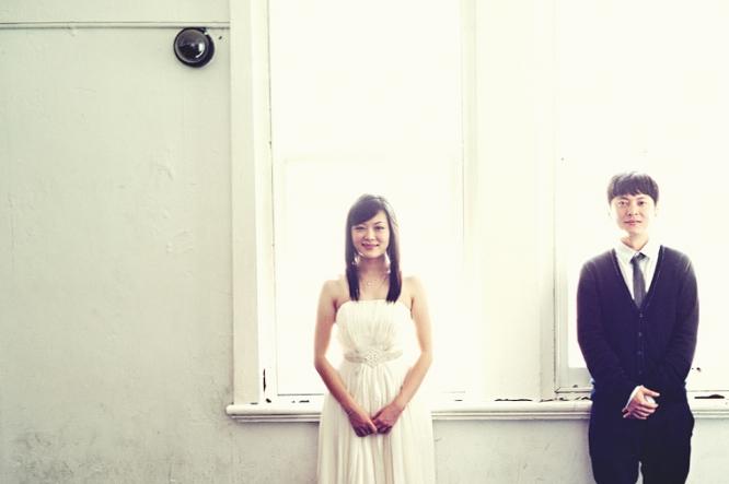 Melbourne engaged couple