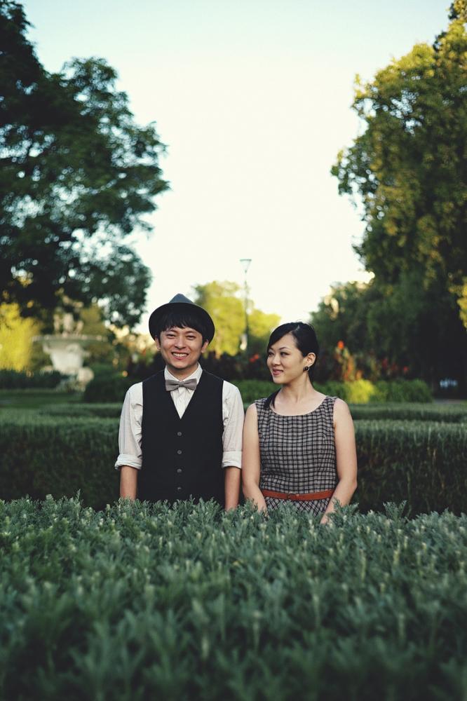 Melbourne engagement park photography