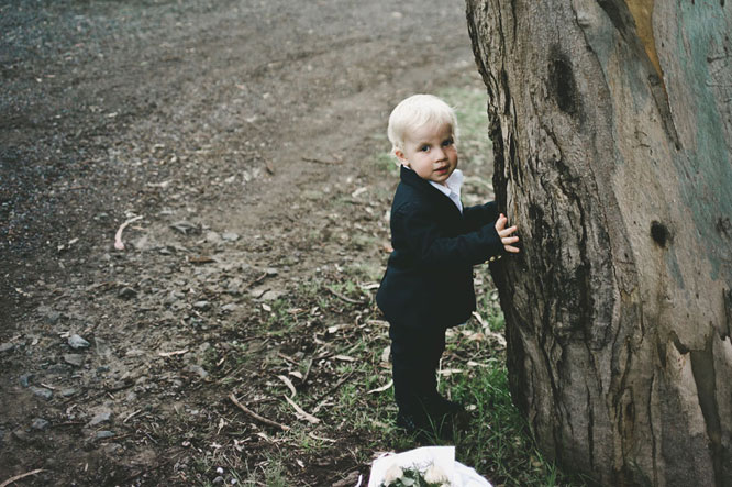 Baby in Lorne wedding