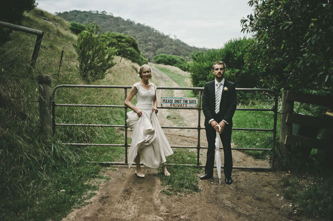 Bride groom posing in Lorne, Melbourne