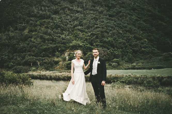 Lorne forest wedding