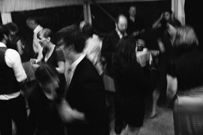 Guest dancing in Lorne wedding photographer