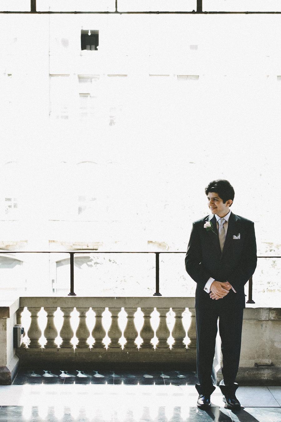 Melbourne groom waiting for wedding