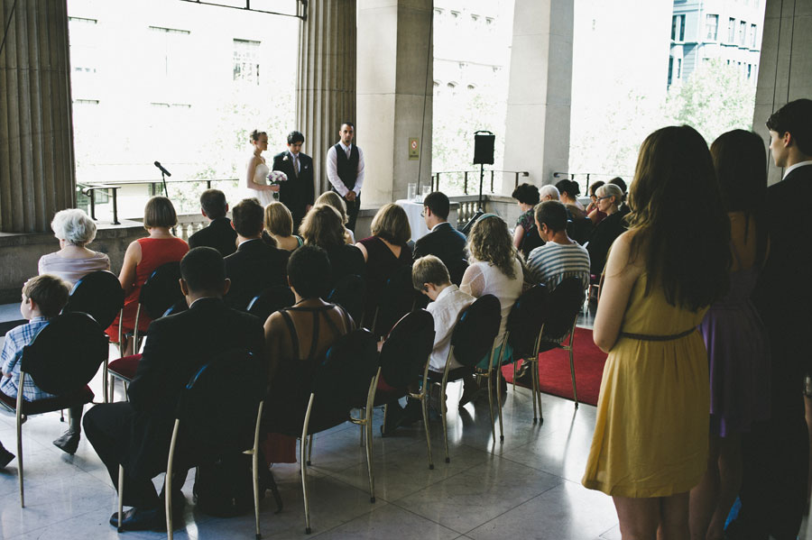 Overview of a Melbourne wedding