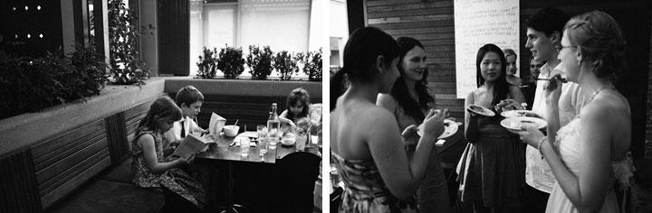 Guests interacting at Bar Italia, Melbourne