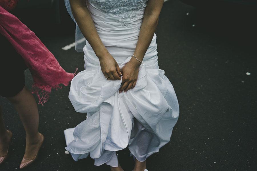 Melbourne Japanese wedding bride dress