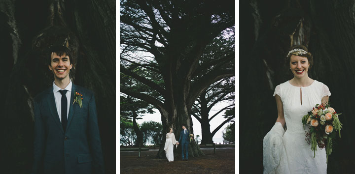 Melbourne wedding portrait - Lorne
