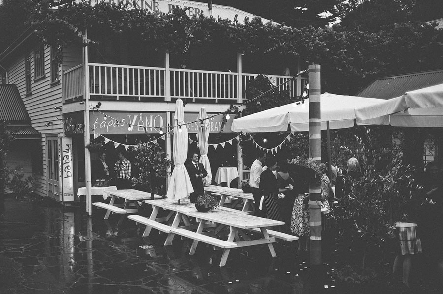 Reception at Babalu bar, Lorne