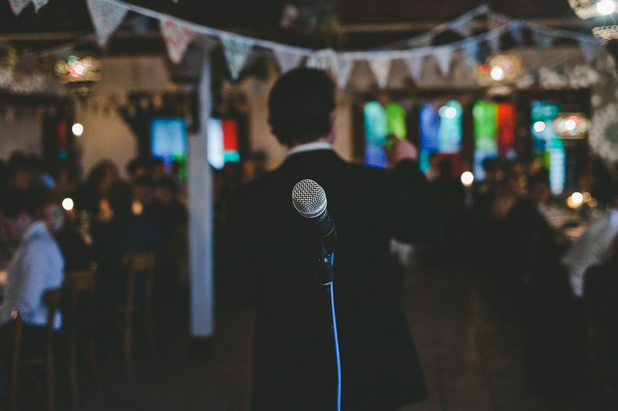 Emcee of the night at Babalu bar - Lorne wedding