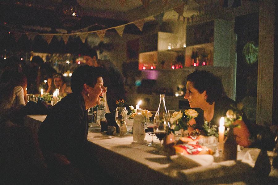 Women gossiping - Babalu bar - Lorne wedding
