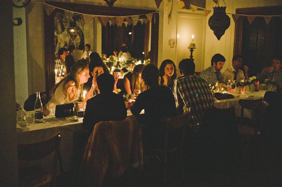 A big group gossiping - Babalu bar - Lorne