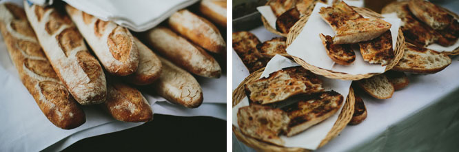 Bread catering Lorne food photography