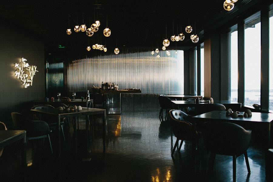 Vue De Monde Melbourne interior design