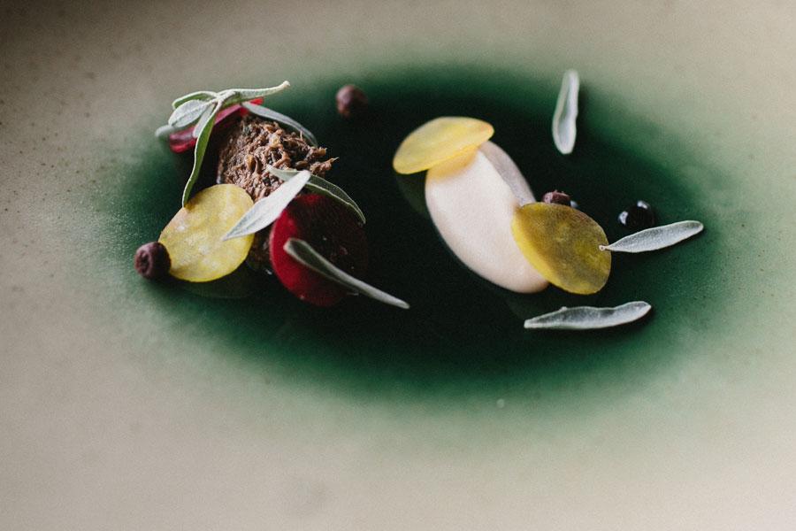 Art on a plate at Vue De Monde Melbourne