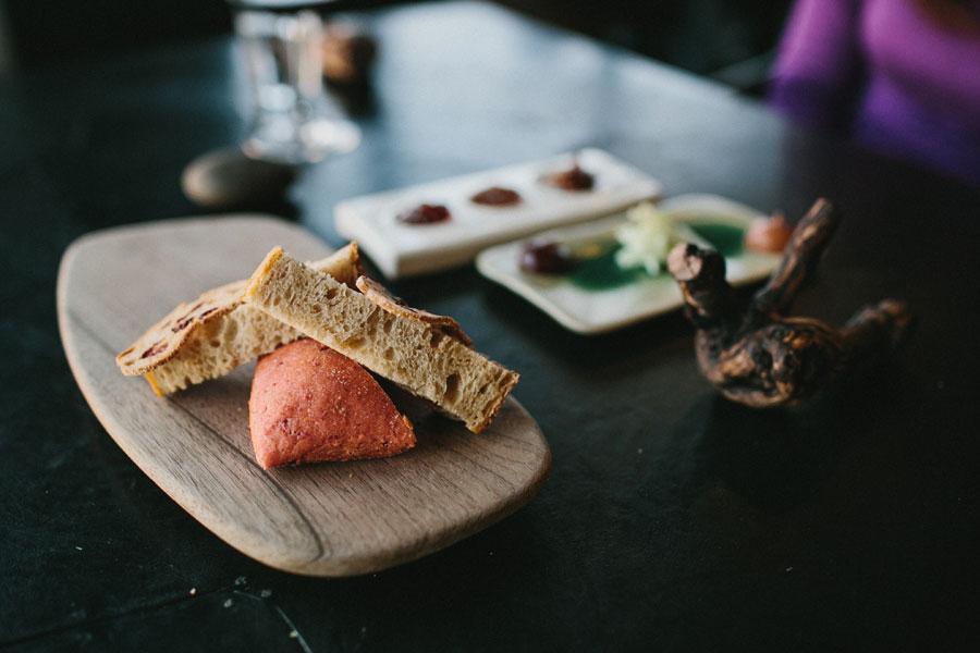 Bread and jam at Vue De Monde Melbourne