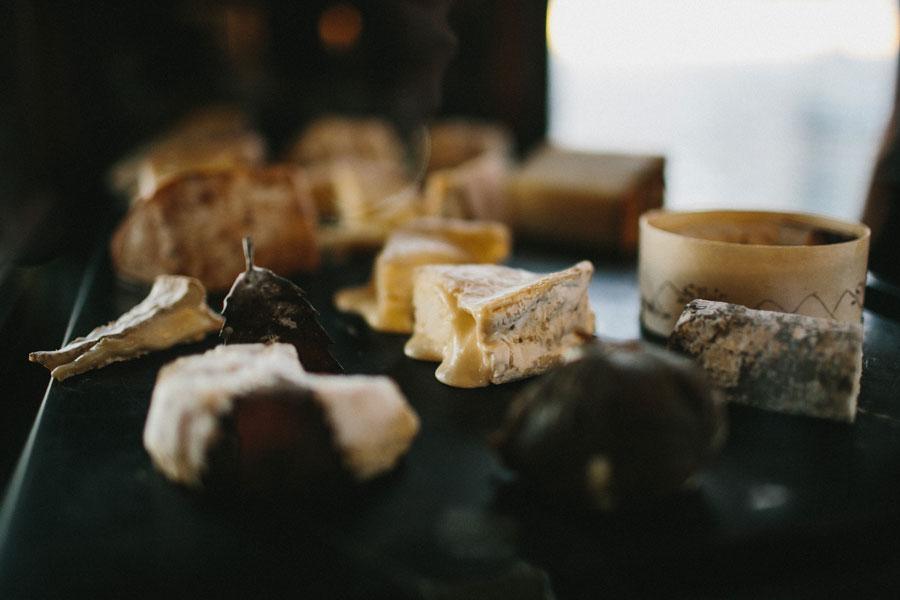 The cheese at Vue De Monde Melbourne