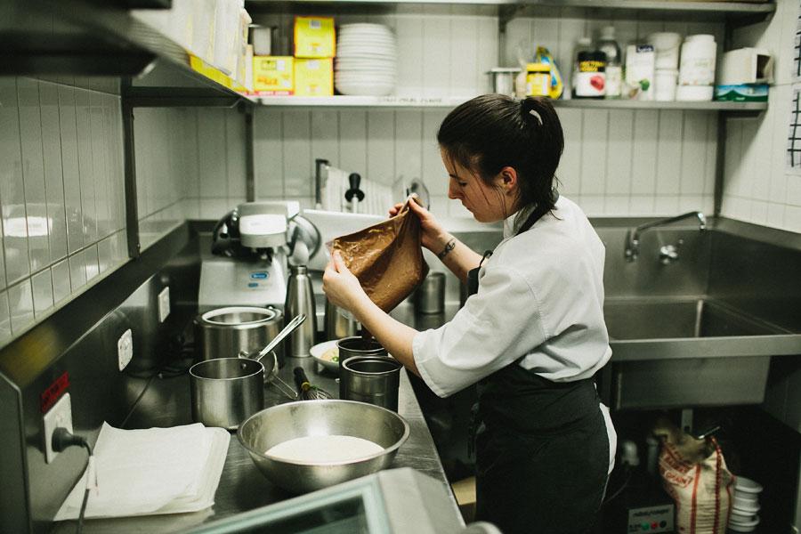 Dessert chef at Vue De Monde Melbourne