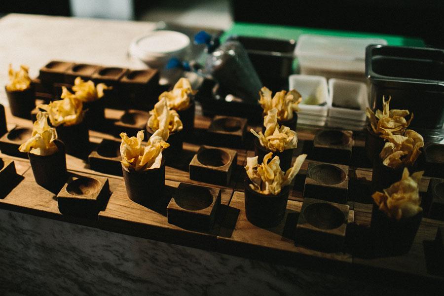 Starter plates at Vue De Monde Melbourne
