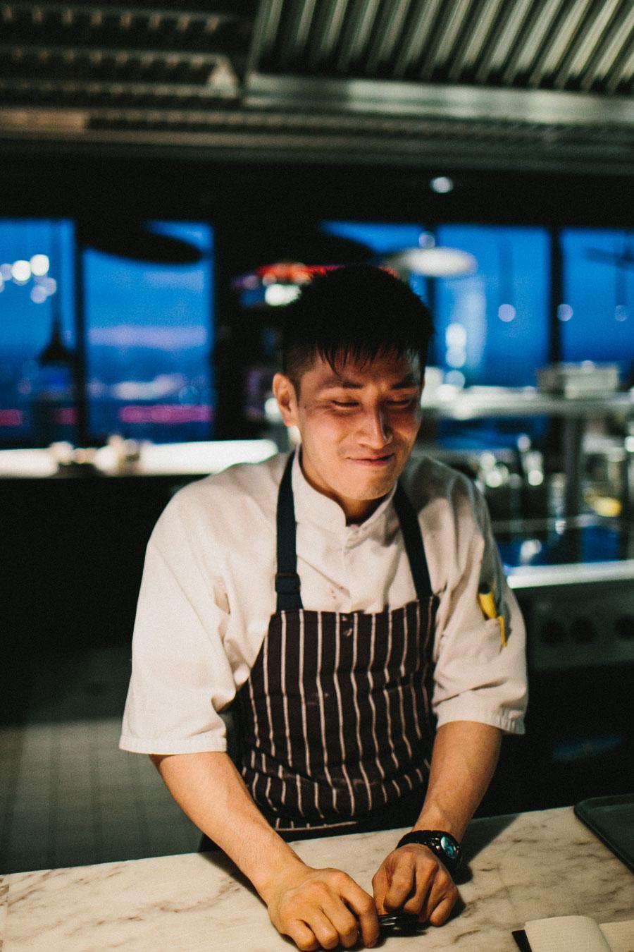 Japanese chef at Vue De Monde Melbourne