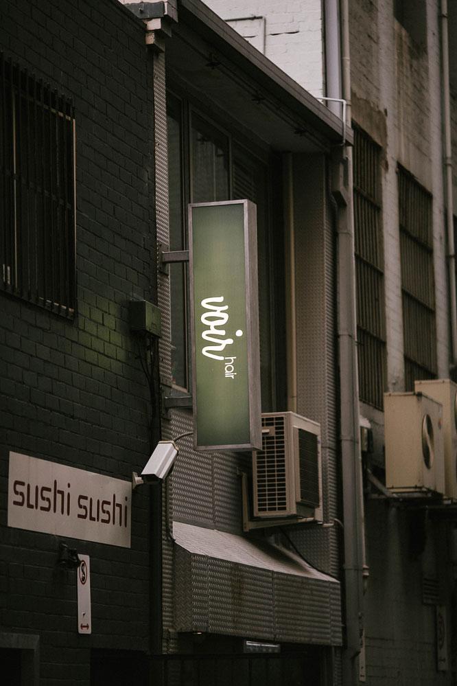 Melbourne signage Little Collins Street
