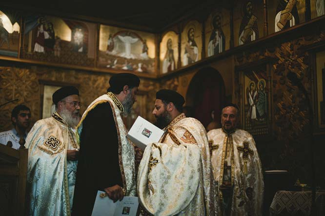 Egyptian coptic church ministers Melbourne