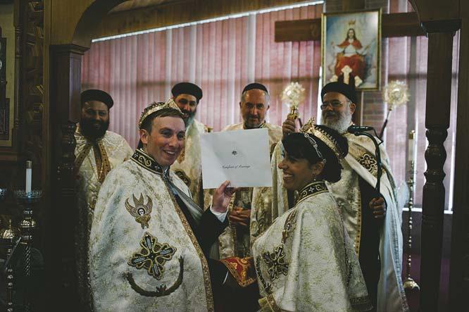 Melbourne Egyptian Wedding certificate