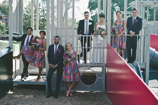 Melbourne Egyptian Wedding group shot