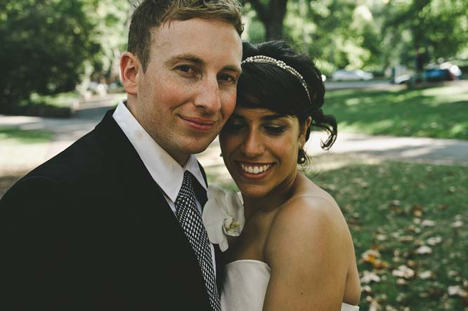 Melbourne Egyptian Wedding Fitzroy garden