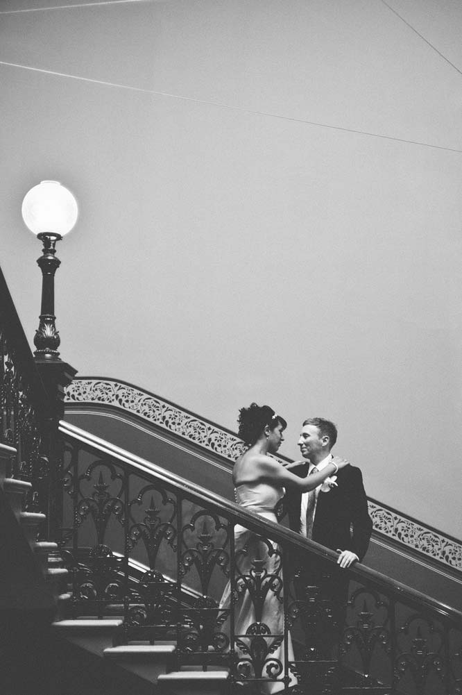 Melbourne Egyptian Wedding Hotel Windsor staircase