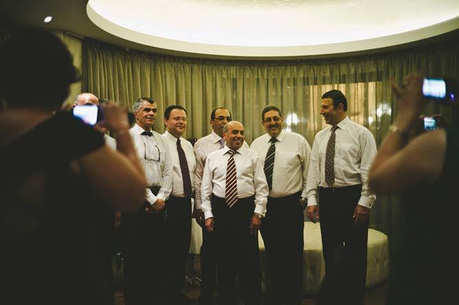 Melbourne Egyptian Wedding gentle old men