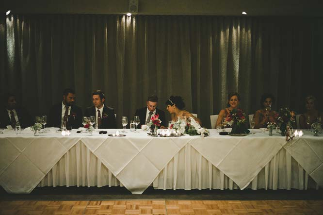 Melbourne Egyptian Wedding head table