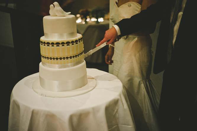 Melbourne Egyptian Wedding Windsor Hotel cake cutting