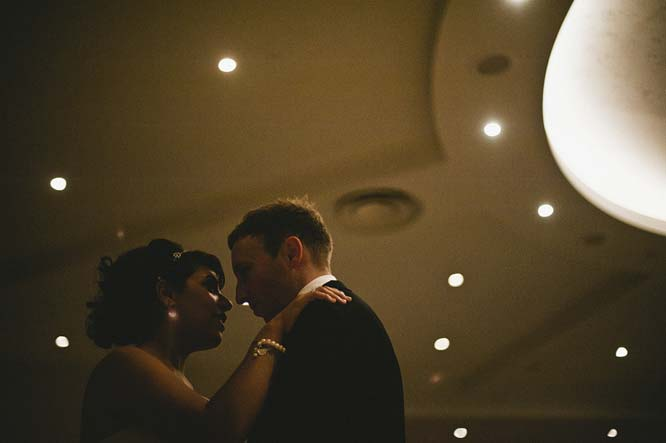 Melbourne Egyptian Wedding Windsor Hotel slow dance