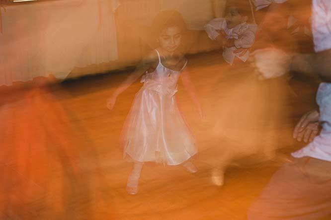 Melbourne Egyptian Wedding Windsor Hotel flower girl dance