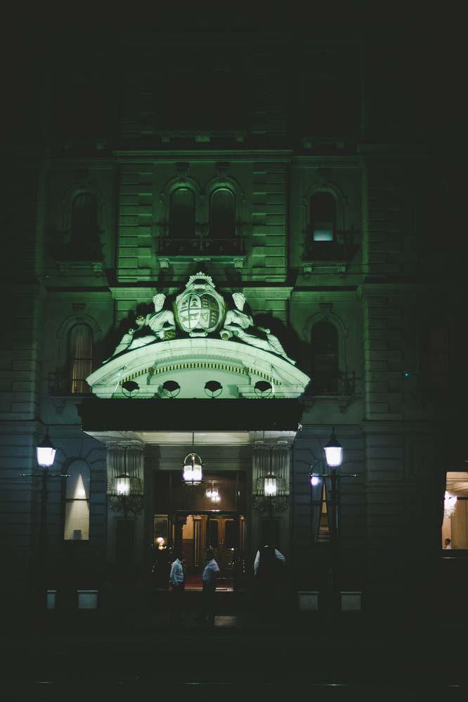 Melbourne Egyptian Wedding Windsor Hotel exterior view