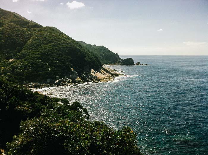 Mountain Ocean Sky Yakushima