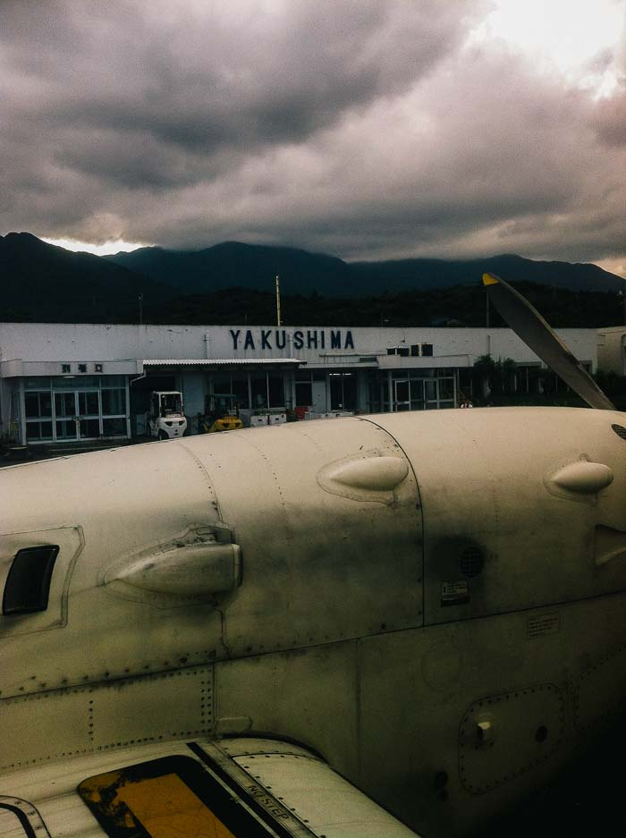Yakushima airport Kagoshima Japan