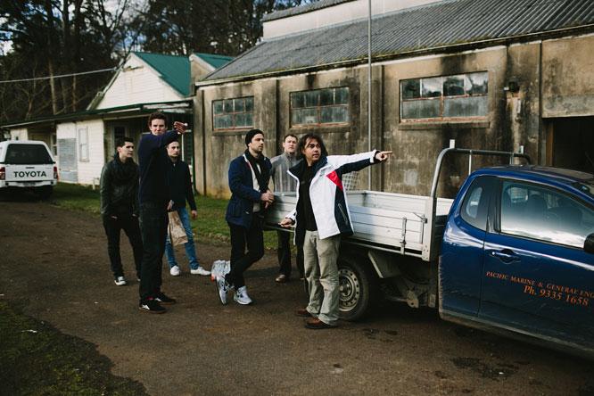Shannon Bennett and crew at Burnham Beeches