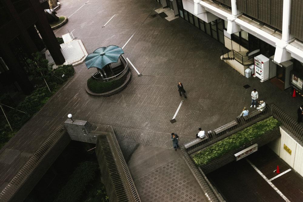 Aerial view of Kobe CBD
