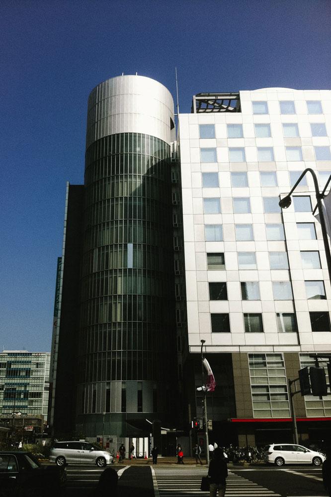 Iconic building in Kobe, Japan
