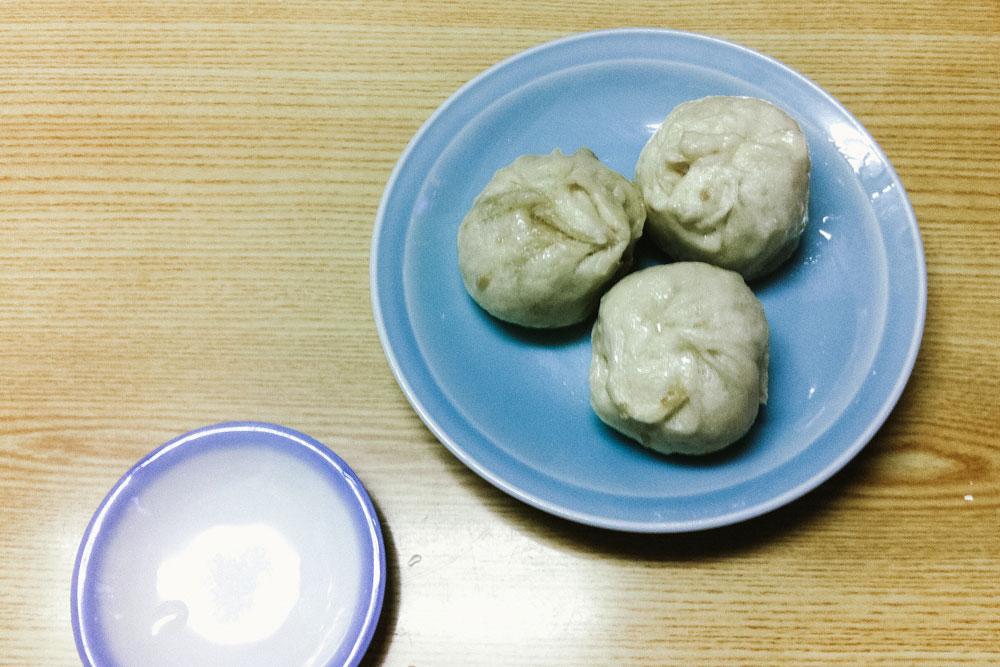 Pork buns of Rosyoki in Kobe, Japan