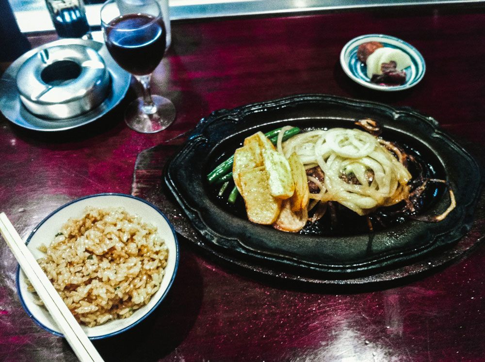 Steak from A-1 Steak House in Kobe, Japan