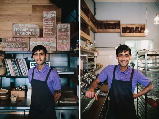 David Byrne owner of Northcote Bakeshop